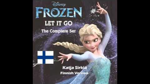 Frozen - Let It Go(Taakse jää) (Finnish Version)