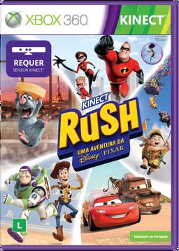 Kinect Rush - Uma Aventura da Disney - Pixar