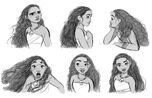 Moana expressions 2