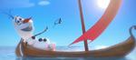 Olaf auf einem Schiff