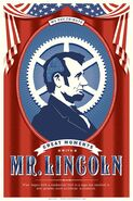 Optimist Lincoln Poster