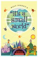 Optimist Small World Poster