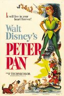 Peter Pan 1953 Poster