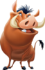 Pumbaa Transparent