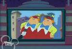 Tweedle Dee and Tweedle Dum on Mouse on the Street