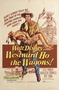 Westward Ho, the Wagons Poster