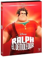 Wreck-It Ralph DVD Mexico