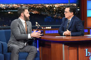 Ben Affleck visits Stephen Colbert