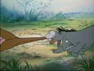 Eeyore Pulling Kanga's Tail