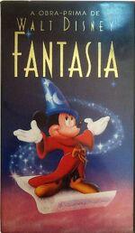 Fantasia 1991 Brazil VHS