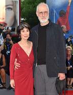 James Cromwell & wife Anna Stuart 73rd Venice Fest