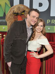 Jason Segel & Amy Adams Muppets premiere