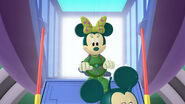 Martian minnie in mickey's sporty y thon