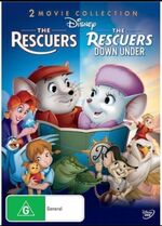 The Rescuers + The Rescuers Down Under 2013 AUS DVD