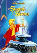 The Sword in the Stone 1999 UK DVD