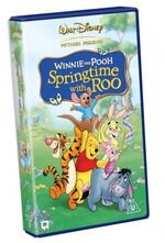 Winnie the pooh springtime with roo uk vhs