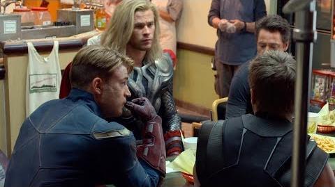 Мстители Война бесконечности - Круглый стол Шаурма