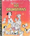 101 Dalmatians 1991 Little Golden Book