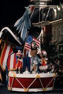 America on Parade Mickey Donald and Goofy