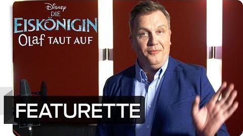 Die Eiskönigin Olaf taut auf - Hape im Synchronstudio Disney HD