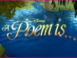 A Poem Is...