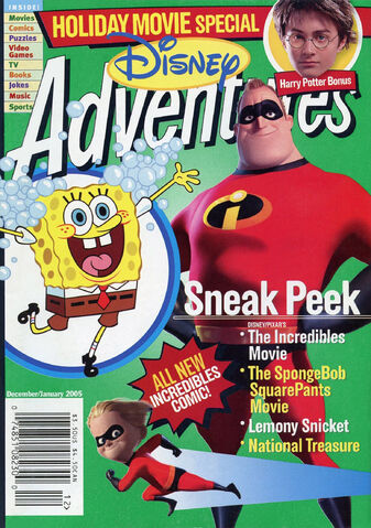 File:Disney Adventures Magazine cover Dec Jan 2005 Incredibles.jpg