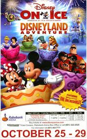 Disney on Ice, Disneyland Adventure