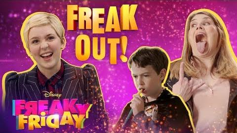 Freak Out Music Video 😜 Freaky Friday Disney Channel