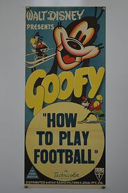 Goofy how to play football daybill