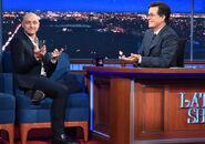 James McAvoy visits Stephen Colbert