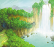 Jungle - Cliff (Art)