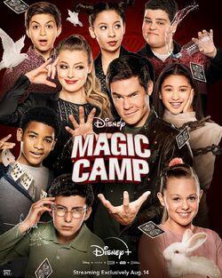 Magic Camp - Disney Poster