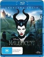 Maleficent 2014 AUS Blu-Ray