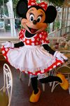 Minnie at Character Breakfast