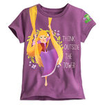 Rapunzel Tee for Girls - Tangled The Series
