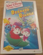 The Rescuers 1991 France VHS