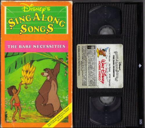 77d2b318f Disney Sing Along Songs  The Bare Necessities