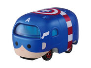 Captain America Tsum Tsum Vinyl Car
