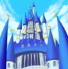 Disney Castle Exterior (Art)