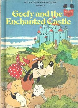 Goofy and the enchanted castle
