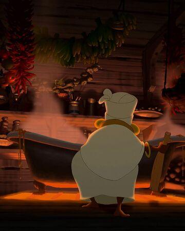 Mama Odie S Gumbo Cauldron Disney Wiki Fandom