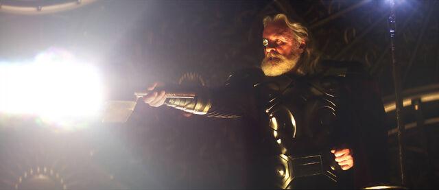 File:Odin wields Mjolnir.jpg