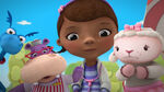 Stuffy, hallie, doc and lambie