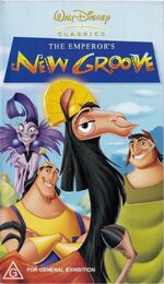The Emperor's New Groove 2001 AUS VHS