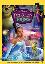 The Princess and the Frog 2010 DVD
