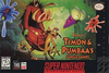 Timon & Pumbaa's Jungle Games Coverart