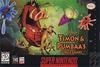Timon & Pumbaa's Jungle Games Coverart
