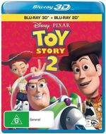 Toy Story 2 2011 AUS Blu Ray 3D