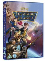 Treasure Planet UK DVD 2014