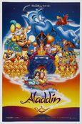 Aladdin Original Theatrical Poster